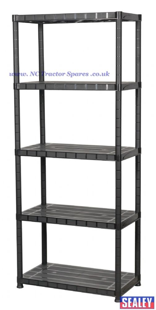5 Level Composite Racking Unit 30kg Capacity Per Level